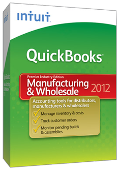 QuickBooks Premier – Manufacturing and Wholesale Edition