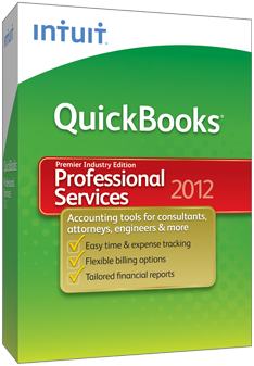QuickBooks Premier – Professional Services Edition